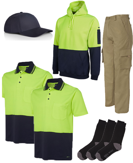 Tradie Head to Toe 8 Piece Pack