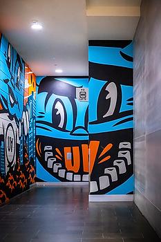 Internal Mural - multi wall
