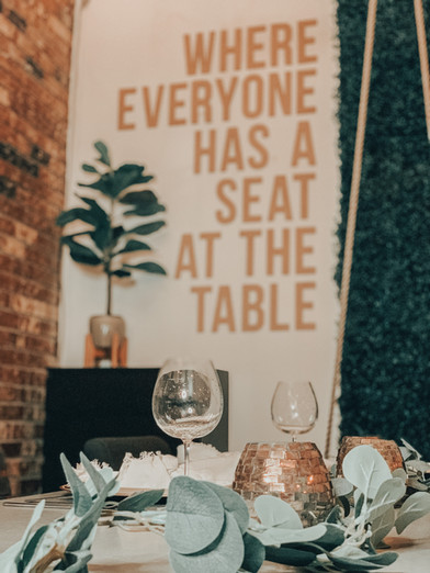 Everyone Has a Seat at the Table