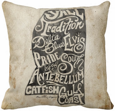 My Mississippi Pillow