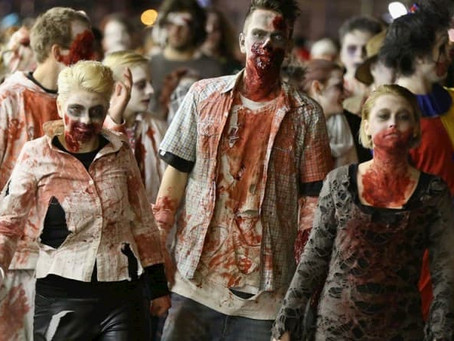 Confessions of a Ghost Writer - Zombie Apocalypse