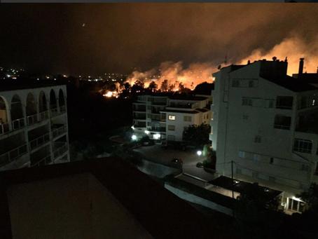 Fires of Javea