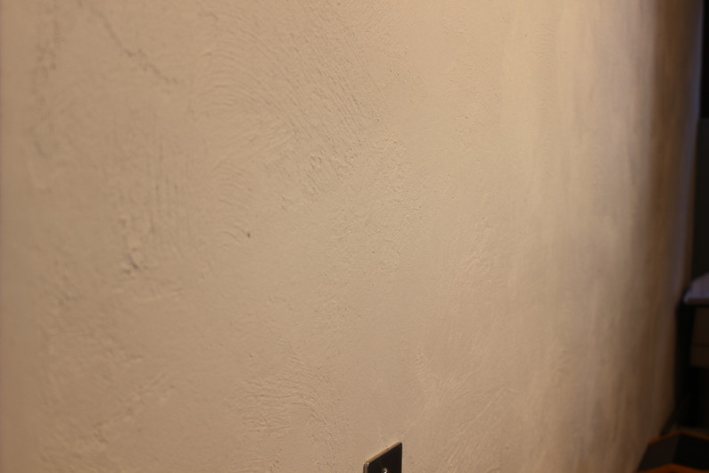施工〈漆喰〉