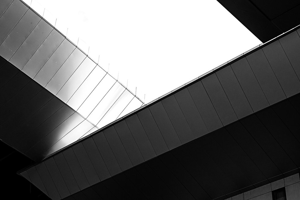 Abstract architecture background serving as a background for Dawid Runtz biography