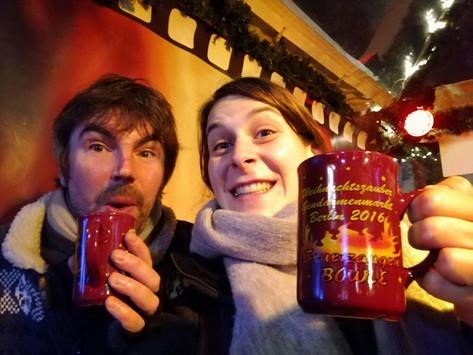 Merry Christmas! With Stephanie Tenschert, Berlin, 2016