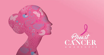 October Breast Cancer Beautiful Woman Im
