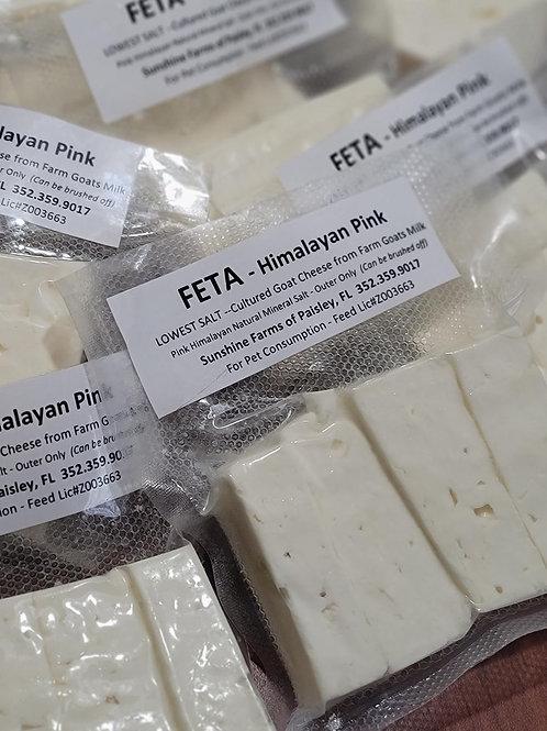 FETA Cheese -LIVE CULTURED -  Low Salt Recipe!