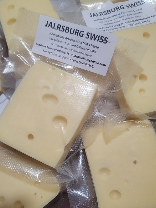 🧀 JARLSBURG SWISS Cheese  4oz Block