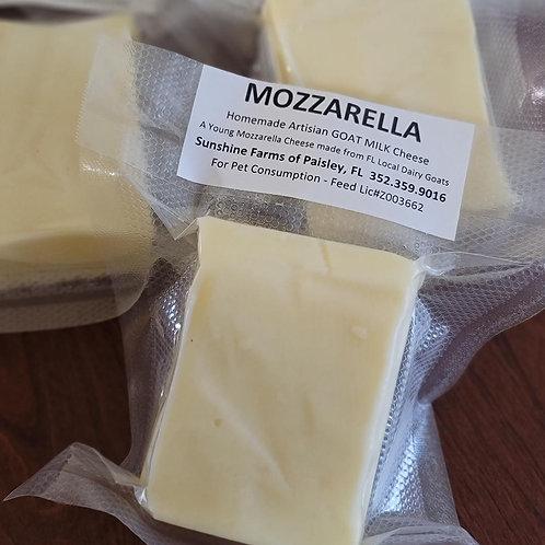 MOZZARELLA from Goat Cheese 6oz Block