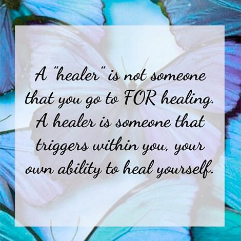 The Healer Resides Within