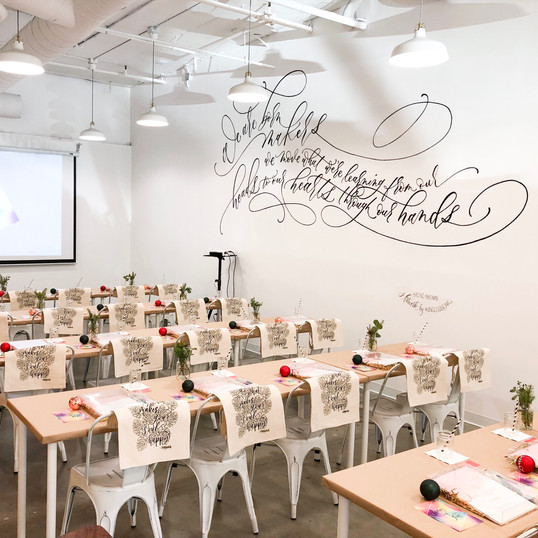 Holiday Edition Workshop at M.Lovewell
