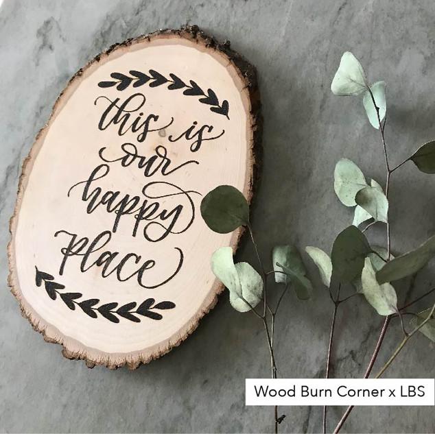 Wood Burn Corner x LBS