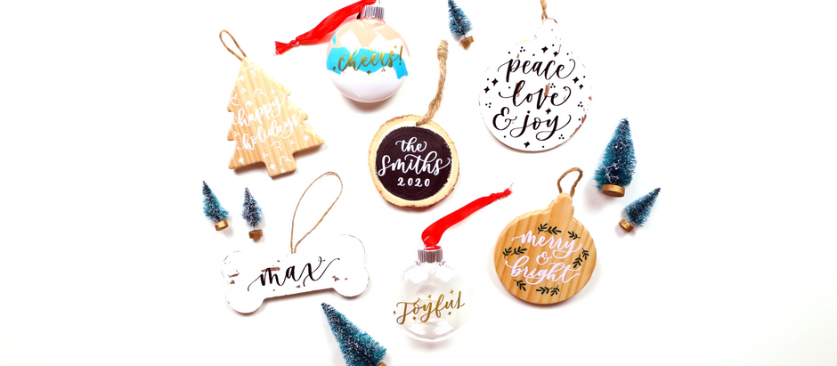 How to make DIY Ornaments in 3 Different Ways