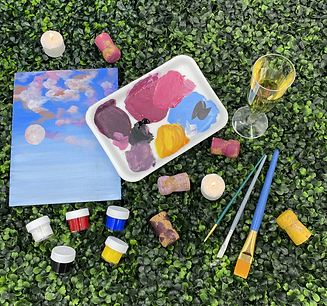 Sip and Paint Kit