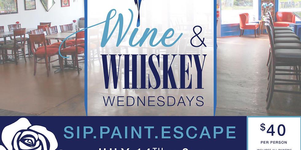 Wine & Whiskey Wednesday - July 14th