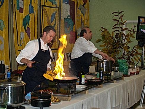Wandi Nut Festival - Stefano Manfredi cooking demonstration
