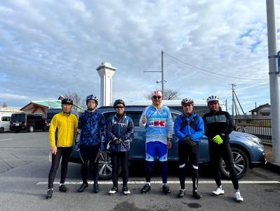 霞ケ浦一周サイクリング2020