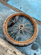 リアカーのタイヤ修理も承ります!