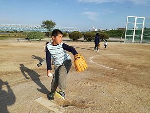 野球教室 プラス・スポーツ学童クラブ