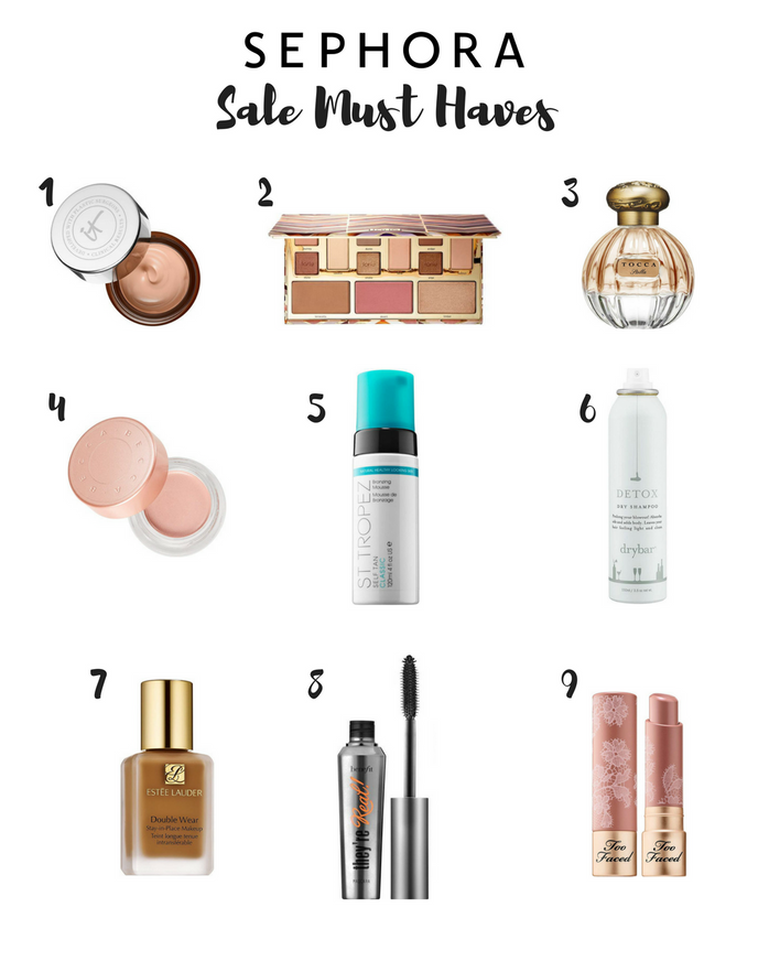 Sephora Sale Must-Haves