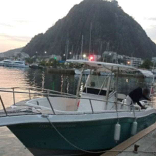 Escultura Viking Boat