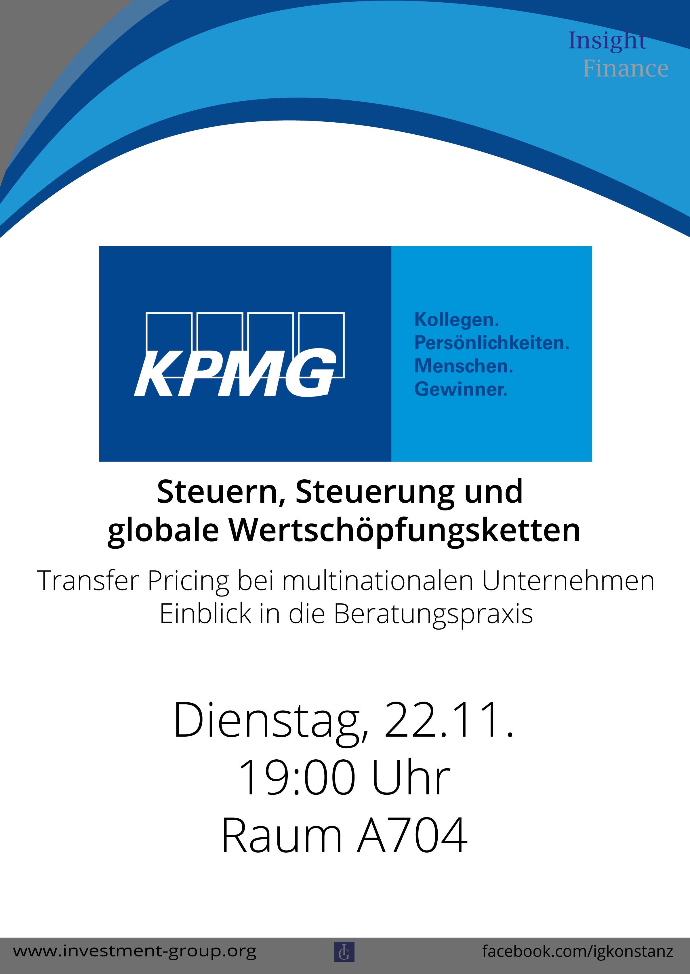 KPMG Vortrag