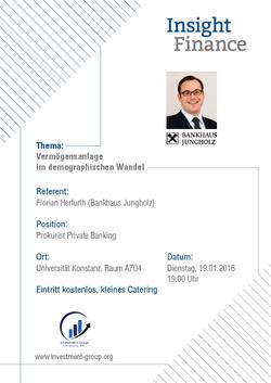 Bankhaus Jungholz Vortrag