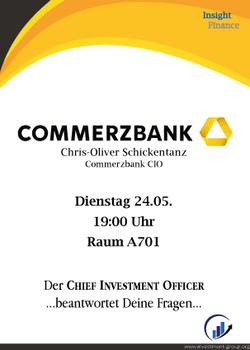 CCommerzbank Vortrag