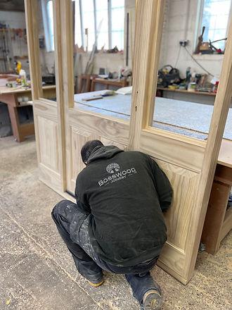 Handcrafted Timber Door