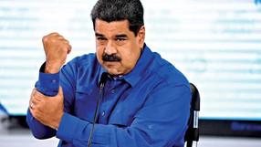 Foi duro também para Maduro