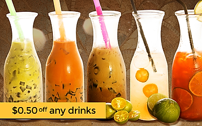 $0.50 off any drinks from Soi Aroy (SMU)