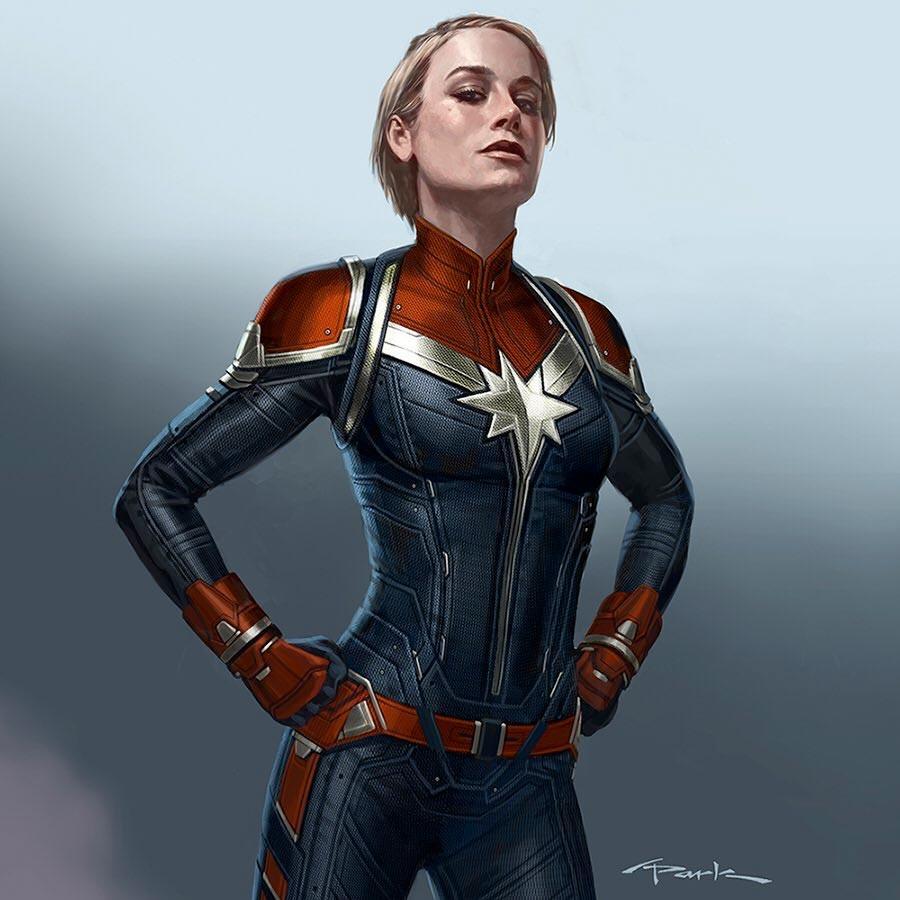 marvel avengers endgame captain marvel