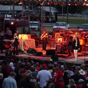 Opening for Charlie Daniels at Champaign County Fair