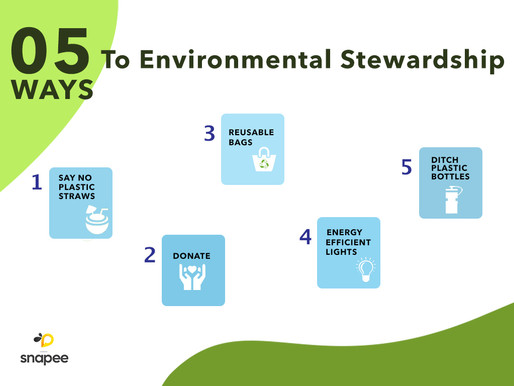 Be A Better Environmental Steward - World Environment Day