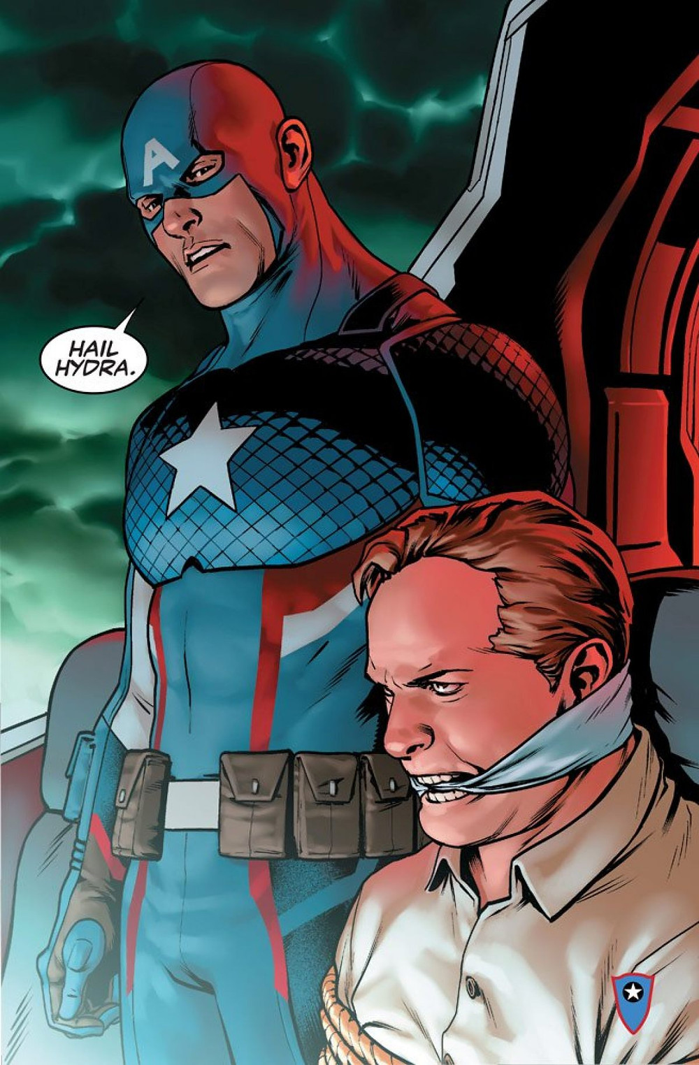 avengers captain america hail hydra reference elevator