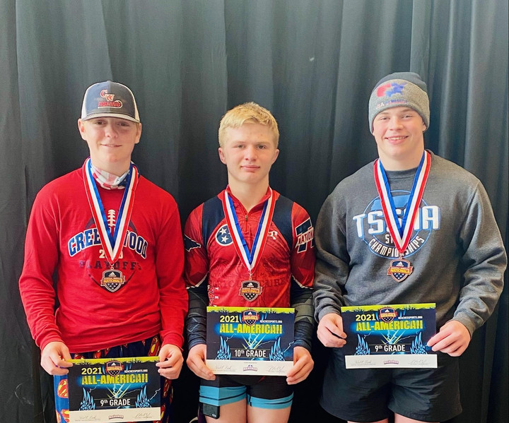Cheatham Wrestlers Place in Adidas Nationals
