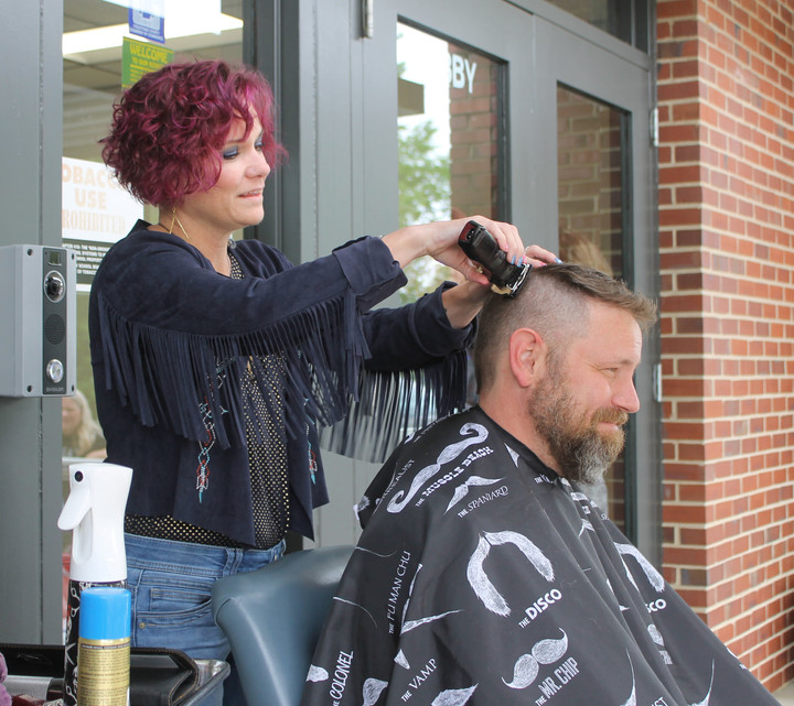 PVES Principal Gets Mohawk After Students Raise 38k