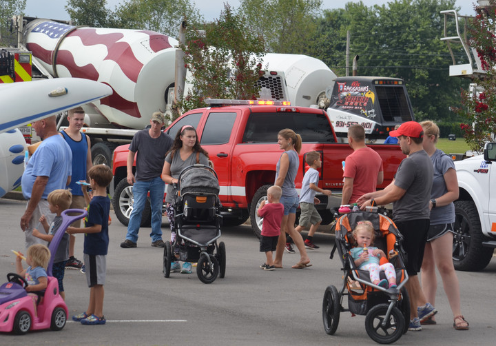 Trucks, Helicopter Landings to Highlight Annual PVPD Event