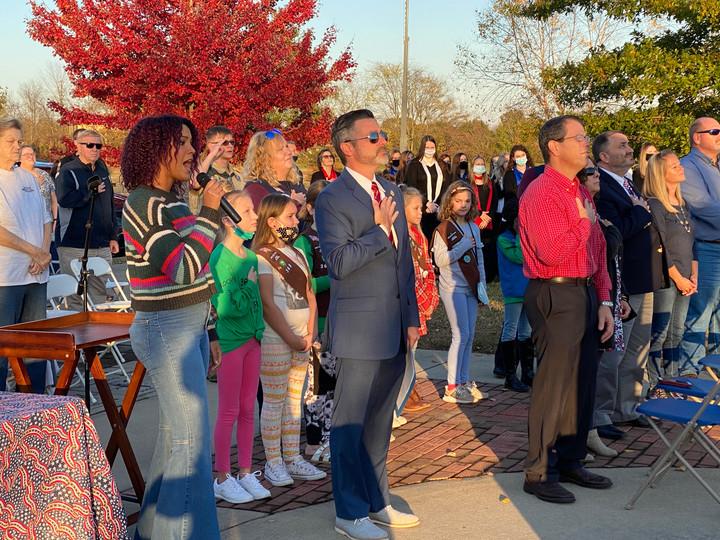 Community Unites for Annual Veterans Program