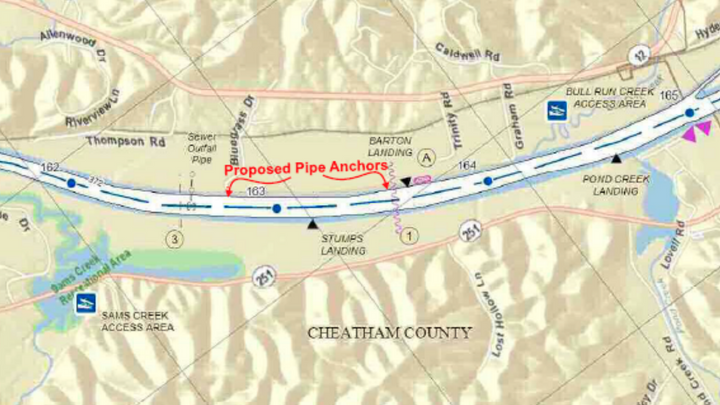 Public Notice: Proposed Barge Fleeting Area at Cumberland River