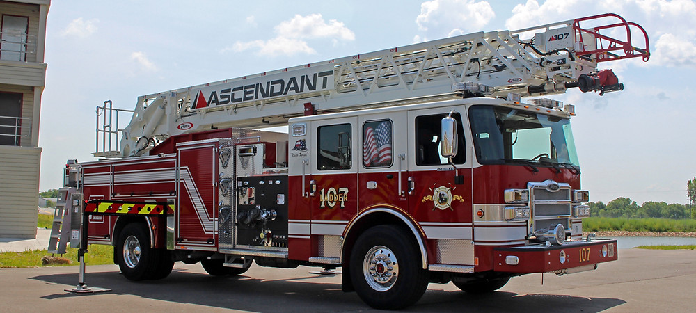 This is what the ladder truck would look like
