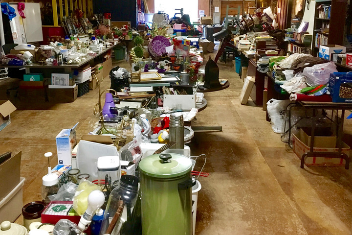 Colby's Army Gears Up for Next Month's Yard Sale Extravaganza