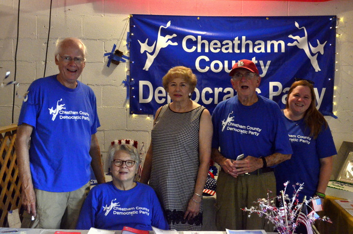 CHEATHAM COUNTY DEMOCRATS OBSERVED 'BIRTHDAYS' OF SOCIAL SECURITY AND MEDICARE