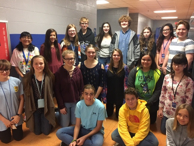 Student-Driven Publication Keeps SMS Students Engaged, Informed