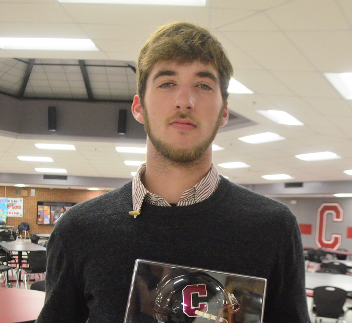 Cubs Recognized in Football Banquet