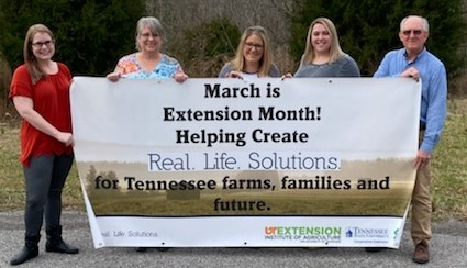 Cheatham County Celebrates Extension Month in Tennessee
