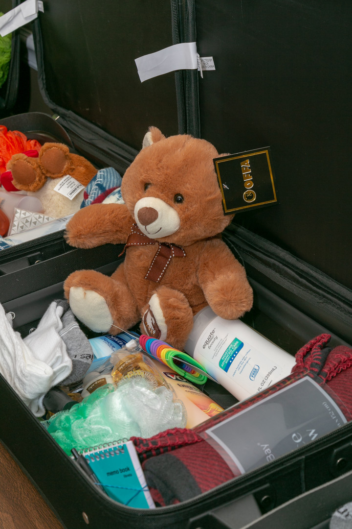 'Suitcases for Foster Kids' Drive in Third Year