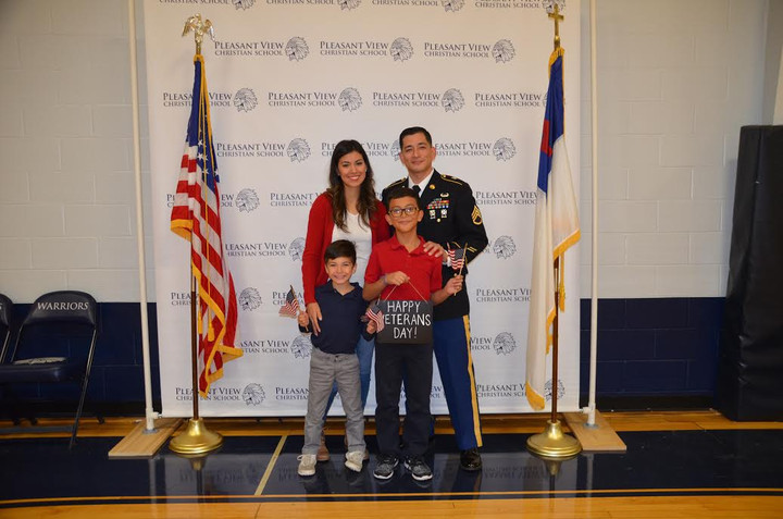 PVCS Holds Veteran's Day Chapel, Local Vet Gives Powerful Speech