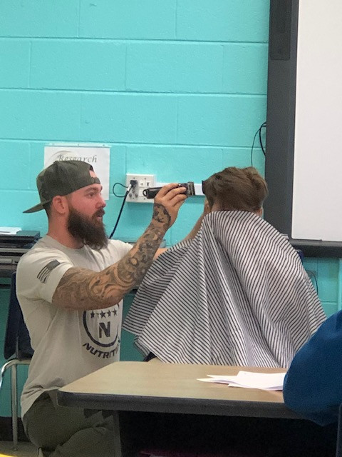 Donated Haircuts Instill Confidence in Riverside Academy Students