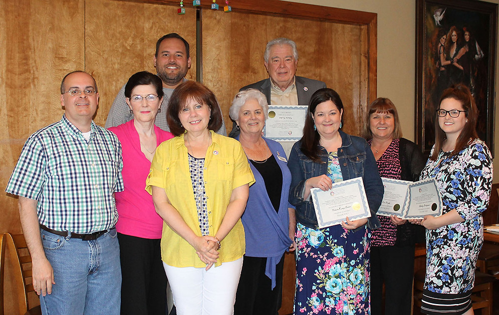 The Cheatham County Community Enhancement Coalition hosted a Volunteer Appreciation Dinner on May 10. Special certificates of appreciation were presented to a number of volunteers.